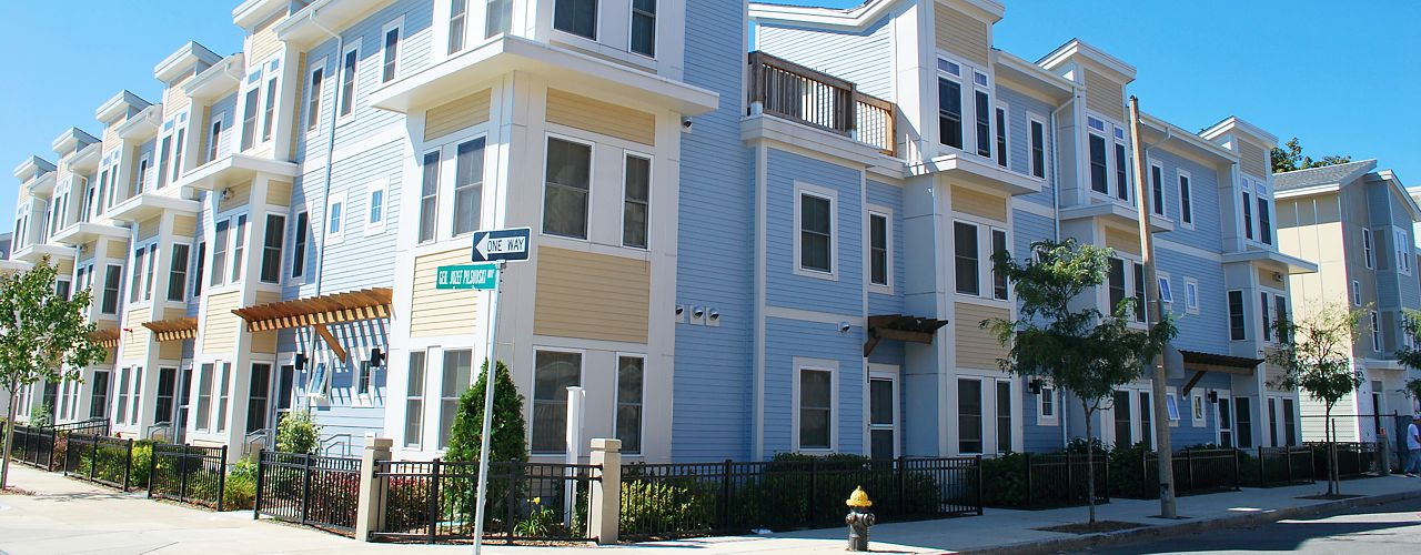 Panelization was utilized for this residential development in South Boston, MA