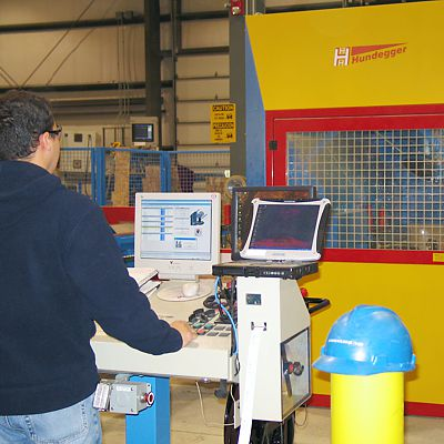 Hundegger CNC precision cutting equipment