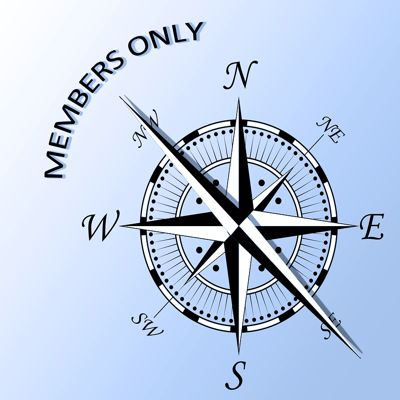 Members Only travel compass