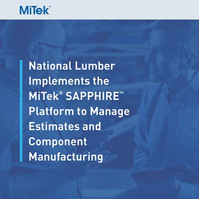 MiTek Case Study of National Lumber