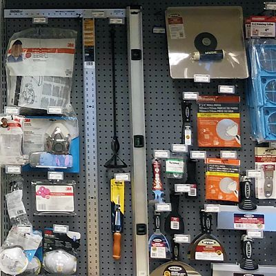 Miscellaneous items in East Hartford store hardware department